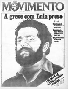Crédito: Movimento Lula/Reprodução. Capa de periódico reproduzida no livro As capas desta historia.
