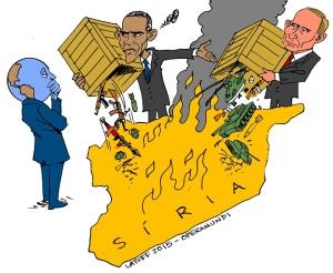 ObamaSyriaPutinLatuff
