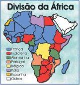 divisão da áfrica colcha de retalhos