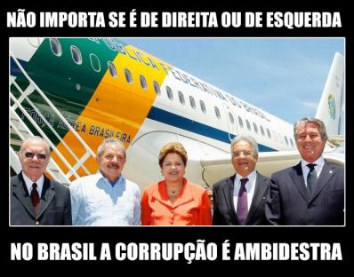 No Brasil a corrupção é ambidestra
