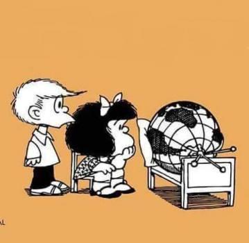 mafalda e o mundo