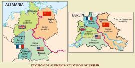 DIVISIÓN DE ALEMANIA Y BERLIN