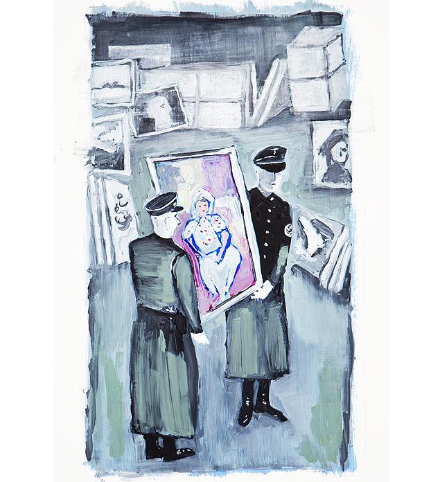 quadros nazis