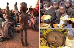 980903. AJIEP, SUDAN. Captin to come. For Sudan famine story by Don Melvin. RICH ADDICKS/STAFF